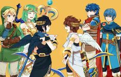 Link: How come he gets his dark self and I don't get mine? Palutena: The better question is, Why does him and Pittoo get along, while you and Dark Link don't