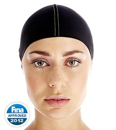 The Speedo™ Fastskin3 Hair Management System is a revolutionary piece of headwear that, for the first time, is designed to help swimmers with long hair better wear their racing cap.  (http://www.swimoutlet.com/product_p/36280.htm)