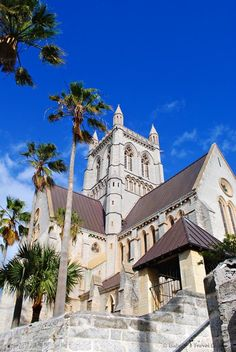 Cathedral of the Most Holy Trinity, Bermuda. Pin provided by Elbow Beach Cycles http://www.elbowbeachcycles.com