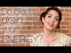 Do Your Clients Drain Your Energy? This Could be the Problem.  http://marieforleo.com/2011/04/clients-drain-energy-problem/  How do you deal with clients who drain the most out of you? Here's how I can help you with that. Sign up here (it's FREE!): www.marieforleo.com