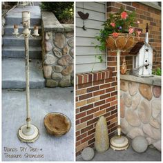 what to do with those old floor lamps...?
