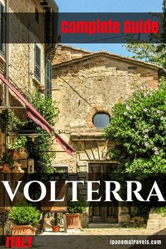 Complete city guide of all tourist attractions in Volterra (Tuscany - Italy), featuring all attractions in Volterra, things to do and see in Volterra, places to stay in Volterra, and the most famous museum of Etruscan heritage in Italy - the Guarnacci Etruscan Museum in Volterra. Indispensable if you travel to Volterra/visiting Volterra. #Volterra #Tuscany #Italy #ItalyTravel #TuscanyTravel #Etruscans #cityguide via @ipanemat
