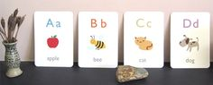 Printable Alphabet & Word Learning Activities for Children