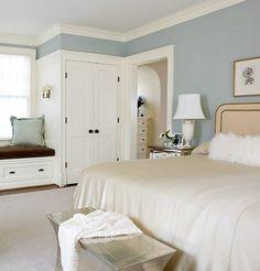 Dubleks ev yatak odası dekorasyonu