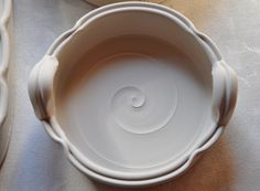 Im making a new little baking dish with handles it would make a great brie baker. - Im making a new little baking dish with handles it would make a great brie baker. Pottery Bowls, Ceramic Pottery, Pottery Art, Slab Pottery, Pottery Studio, Ceramic Tableware, Ceramic Clay, Ceramic Bowls, Kitchenware