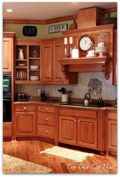 3a917eb2f24f0b My Kitchen Painting Kitchen Cabinets White, Above Kitchen Cabinets, Wood  Cabinets, Kitchen Backsplash