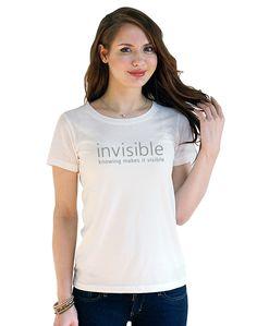 invisible T-shirt チャリティーブランドregaty