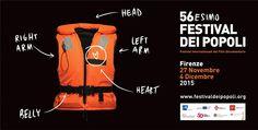 E' un giubbotto salvagente arancione il simbolo del nuovo manifesto del 56/mo Festival dei Popoli, il festival internazionale del film documentario, che si terrà a Firenze dal 27 novembre al 4 dicembre, presieduto da Marco Pratellesi. Un'immagine che...