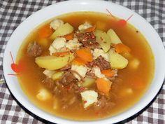 Karcsi főzdéje: Gulyás leves csipetkével