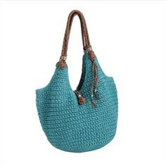 Sakroots Indio Crochet tote is not only eco-friendly but it is the crochet bag that made The SAK famous. The material consists of 50% bamboo.  <3
