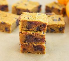 Pumpkin Chocolate Chip Bars | Kirbie's Cravings | A San Diego food blog