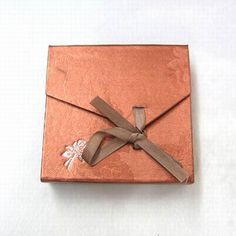Square Cardboard Jewelry Box, Displaying Bracelet & Bangle