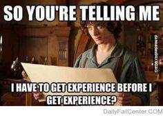 Get Experience