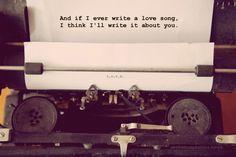 "Song: ""Love Songs"" - Brandi Carlile  Image from: loveandlavender.com"