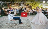 """Bride puts a spell on her groom during first dance Another great wedding video! The real excitement came near the end when the bride levitated her groom during their dance performance – all to the tune of an awesome oldie-but-goodie classic, """"I put a spell on you"""" by Screamin Jay Hawkins…"""