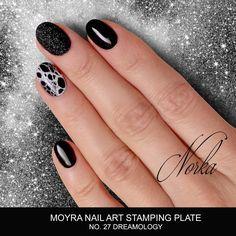 Coming soon! New Moyra Stamping Plate No. 27 Dreamology #moyra #nailart #stamping #plate #dreamology #koromdiszites #koromnyomda