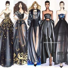 Ideas Fashion Illustration Sketches Hijab For 2020 Dress Design Sketches, Fashion Design Sketchbook, Fashion Design Drawings, Fashion Sketches, Fashion Drawing Dresses, Fashion Illustration Dresses, Fashion Art, Fashion Models, Fashion Show