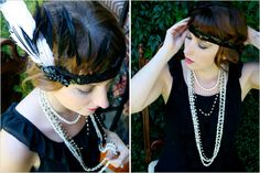 DIY: 1920s Flapper Headband - Root and Vine