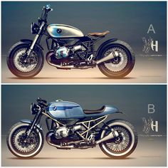 Cafe Racer Concepts - BMW R 1200 R