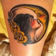 Thanksgypsy moon tattoo awesome pin