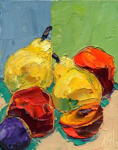 Image from http://kenpaintings.com/8x10/8x10-080811-peaches-pears-plum-480.jpg.