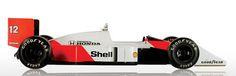 McLaren Heritage MP4/4 1988