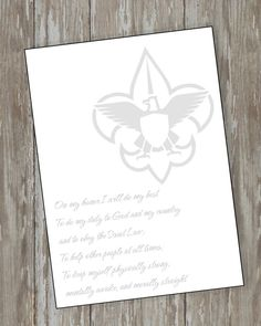Eagle Scout Court of Honor thank you note cards can bring the finishing touch to the Court of Honor.. This listing is for the 5 x 7 note card