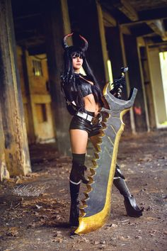 Black Rock Shooter / Black Rock Shooter / by ShashinKaihi