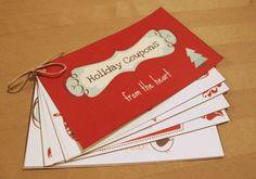 DIY Gift Ideas: Homemade Coupon Books