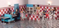 Dolls House Shops - Rockabilly is always on. from dollshouse.com