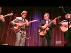 The Great Guitars Tour (Martin Taylor, Frank Vignola, Vinny Raniolo and Peppino D'Agostino) Live Pt. 1 - YouTube