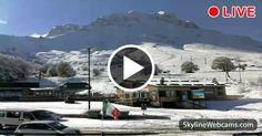 """Nice """"winter"""" view over Prati di Tivo - Abruzzo"""