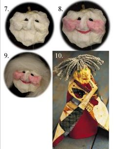 Make an Apple Head To start, choose an apple for the doll's head; The carved apple will shrink to about two thirds . Apple Head Dolls, Apple Dolls, Crafty Projects, Projects For Kids, Wild Birds Unlimited, Corn Husk Dolls, Classroom Crafts, Kitchen Witch, Dollhouse Dolls