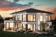 Dream home design, modern house design, cozy house, future house, exp Minimalist House Design, Minimalist Home, Modern House Design, Home Design, Ecology Design, White Houses, House Goals, Home Fashion, Fashion Beauty