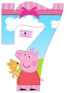 Peppa and anali. Peppa Pig and anali what the heck anali. I love you Peppa Pig. Peppa Pig Princesa, Peepa Pig, Peppa E George, Peppa Pig Teddy, Peppa Pig Birthday Cake, Pig Party, Alphabet And Numbers, Toddler Activities, Teaching Kids