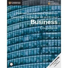 22 best advanced asa level business books images on pinterest cambridge international as and a level business coursebook with cd rom third edition fandeluxe