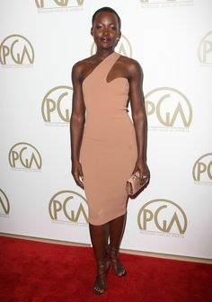 Lupita Nyong'o in Stella McCartney at the Producers Guild Awards