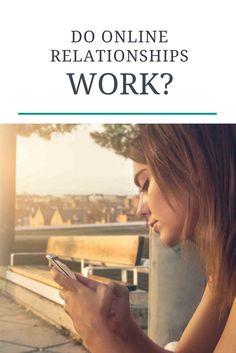 Can online relationships work, emmelyn croes, erelationship, online relationships are not real