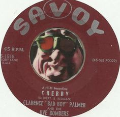 JIVE BOMBERS CLARENCE PALMER Cherry GROUP DOO WOP SOUL R&B 45 RPM RECORD