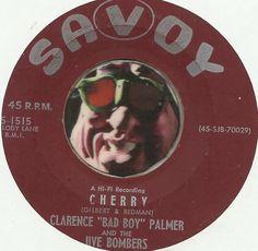 JIVE BOMBERS CLARENCE PALMER Cherry GROUP DOO WOP SOUL R&B 45 RPM RECORD
