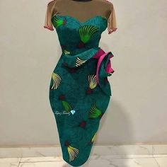 Custom-made Outfits: African Outfits for your events. Ankara