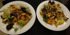 Gloriously good dinner: fish & veggies.