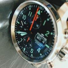 One of our favourite current Pilots Chronographs, the Fortis Flieger Pro, ready for John to collect. @fortisofficial #pageandcooper #watch #watches #Fortis