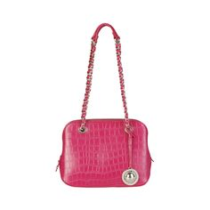 Shoulder Bag, eco-leather, 2 handles- Zip fastening, lined interior- Inside: 2 zip pockets, patch pocket- Dust bag included- Dimensions: cm Size: NOSIZE Color: Pink Made In: Italy Shipped From: United States Lead Time: 1 - 2 Days Versace Jeans, Wholesale Fashion, Dust Bag, Zip, Leather, Accessories, Shoulder Bags, Jeans Women, Pockets