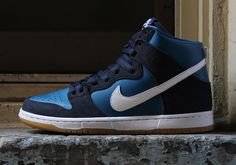 "sneakers  news Nike SB Releases A Dunk High Resembling The ""Stillwater""  Colorway 3d715a858"