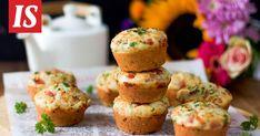 Täältä tulevat herkulliset kinkkumuffinssit! A Food, Food And Drink, Savory Pastry, Muffin, Baking, Breakfast, Pastries, Morning Coffee, Bakken