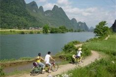 Yangshuo Guided Biking Day Tour including Lunch Yangshou is one of the most popular cities known for its karst-peak surroundings and rocks. Exploring by bike is one of the best ways to get close to the beautiful scenery and explore beyond the guidebook. Your tour guide will meet you at your hotel in Yangshuo downtown at 9:00 am and walk with you (if you hotel is far away from the yangshuo down twon, you will need to pay the taxi fee)to rent a bicycle for you. From Y...