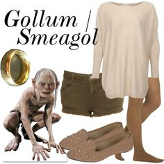 This is a fantastic Tumblr page!  Character: Gollum/Smeagol Fandom: Lord of the Rings