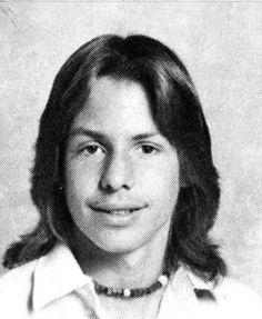 Vince Neil, Junior in 1977 at Charter Oak High School, Covina, CA.