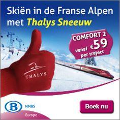 met de Thalys naar de sneeuw voor €59